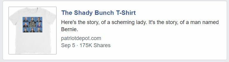 Shady Bunch T-Shirt 175k shares