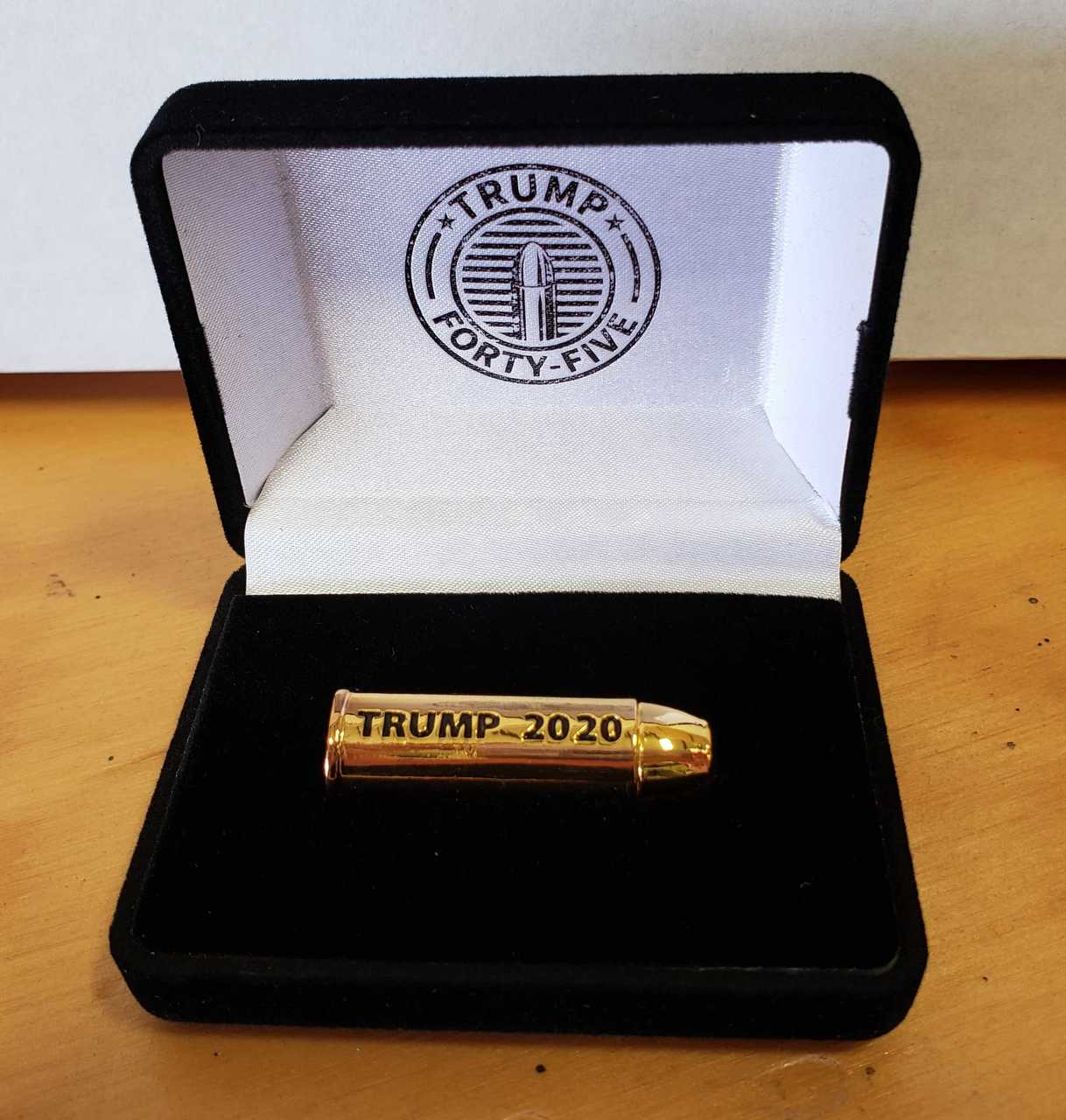 Trump .45 Caliber Gold Bullet