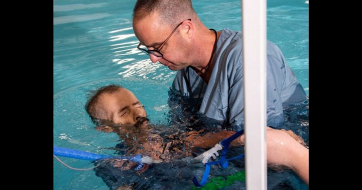 Man Dying of Cancer Has Final Request To Be Baptized Fulfilled