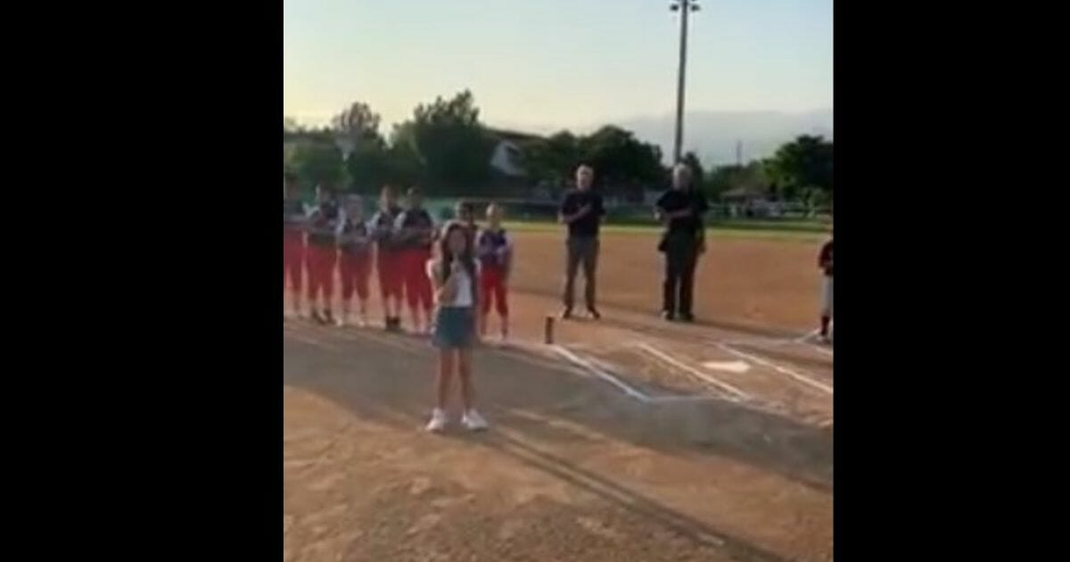 9-Year-Old with Incredible Voice Wows with Rendition of National Anthem