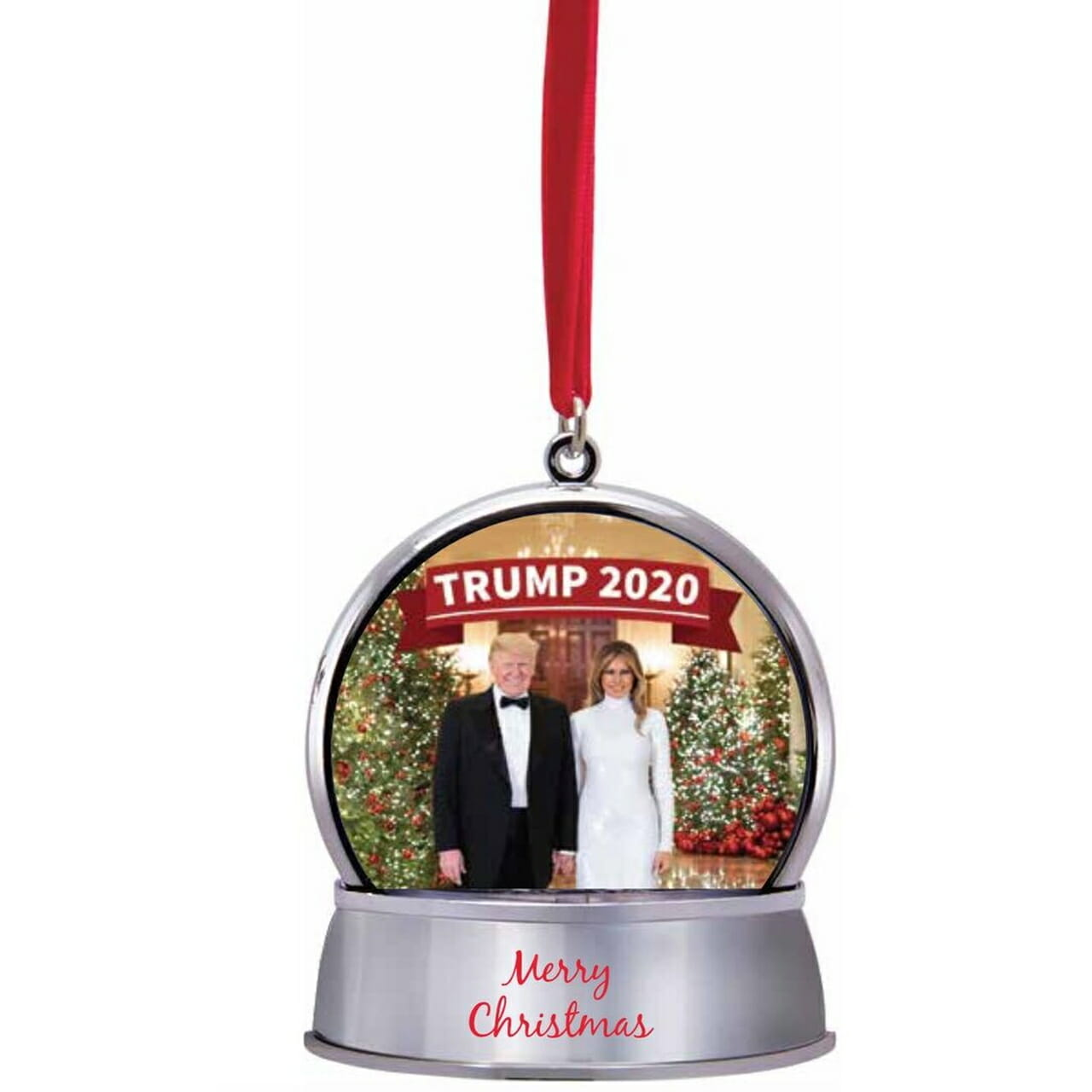 Trump 2020 Snow Globe