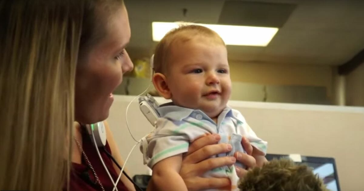 Baby in Video Hears Mother's Voice for Very First Time Thanks to Cochlear Implants