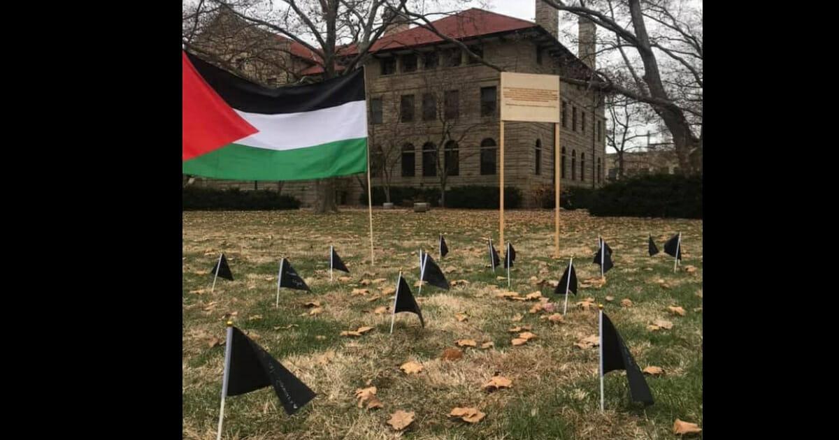 Ohio College Students Put Up Memorial Display for Slain 'Islamic Jihad' Terrorist, Others Killed in Airstrike