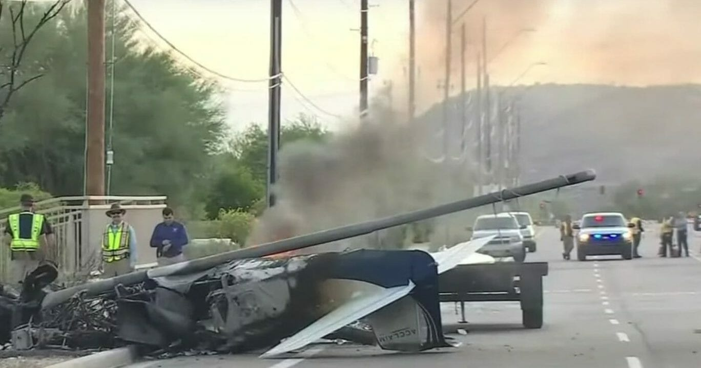 Samaritan Watches Plane Crash and Burst Into Flames, Risks Life To Save Pilot Before Explosion