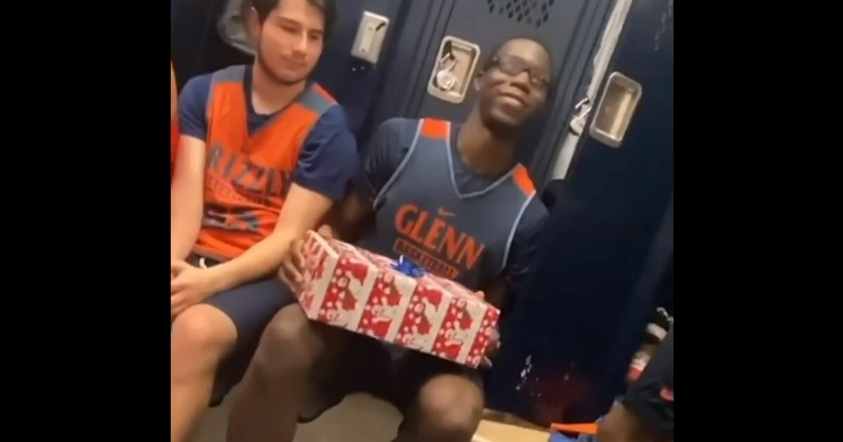 Basketball Team Surprises Teammate With New Shoes in Heartwarming Video