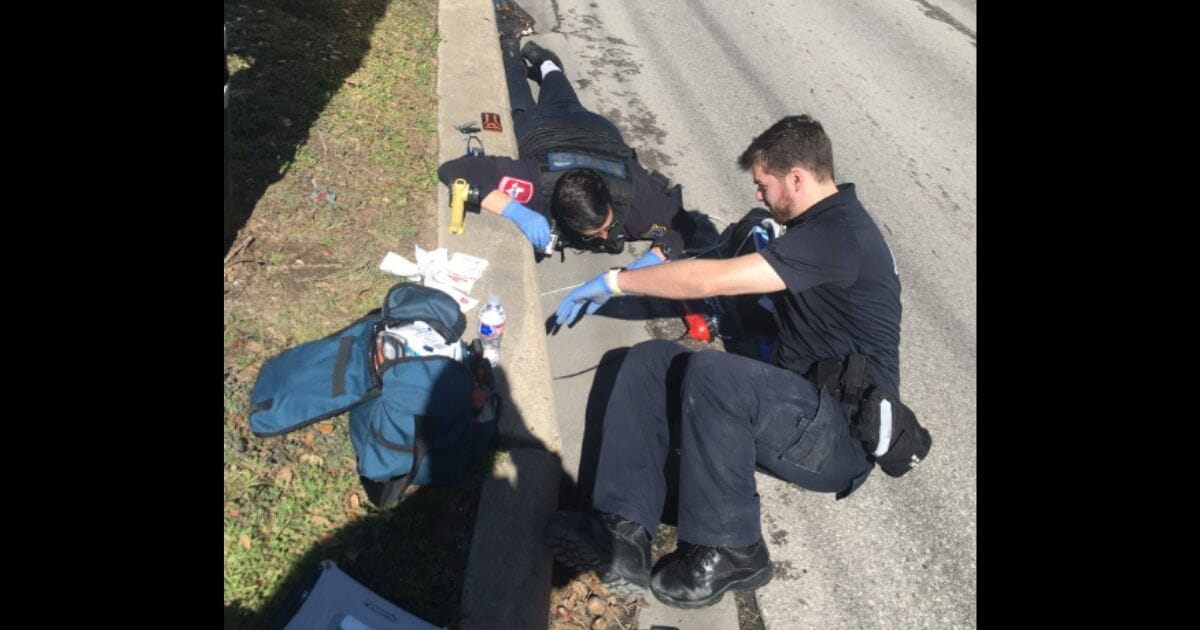 29-Year-Old Stuck in Storm Drain for 2 Days Before Cyclist Spots His Hand Waving from Drain