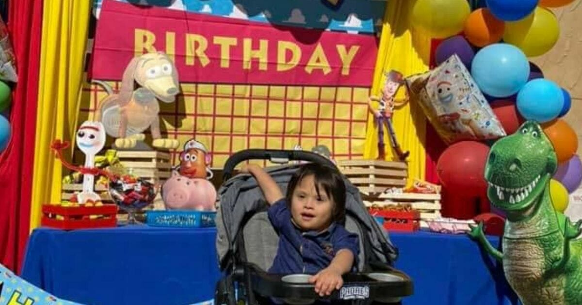 After Struggling Mom Asks for Cake Mix for Son's Birthday, Community Rallies To Throw Boy 'Toy Story' Party