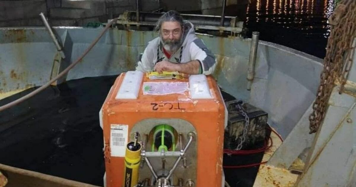 Fisherman Pulls Orange Box from Seafloor, US Navy Calls Shortly After He Posts a Pic