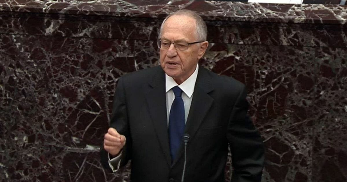 Dershowitz Launches Crushing Defense Against Dems in Impeachment Trial: 'The Wrong Criteria'