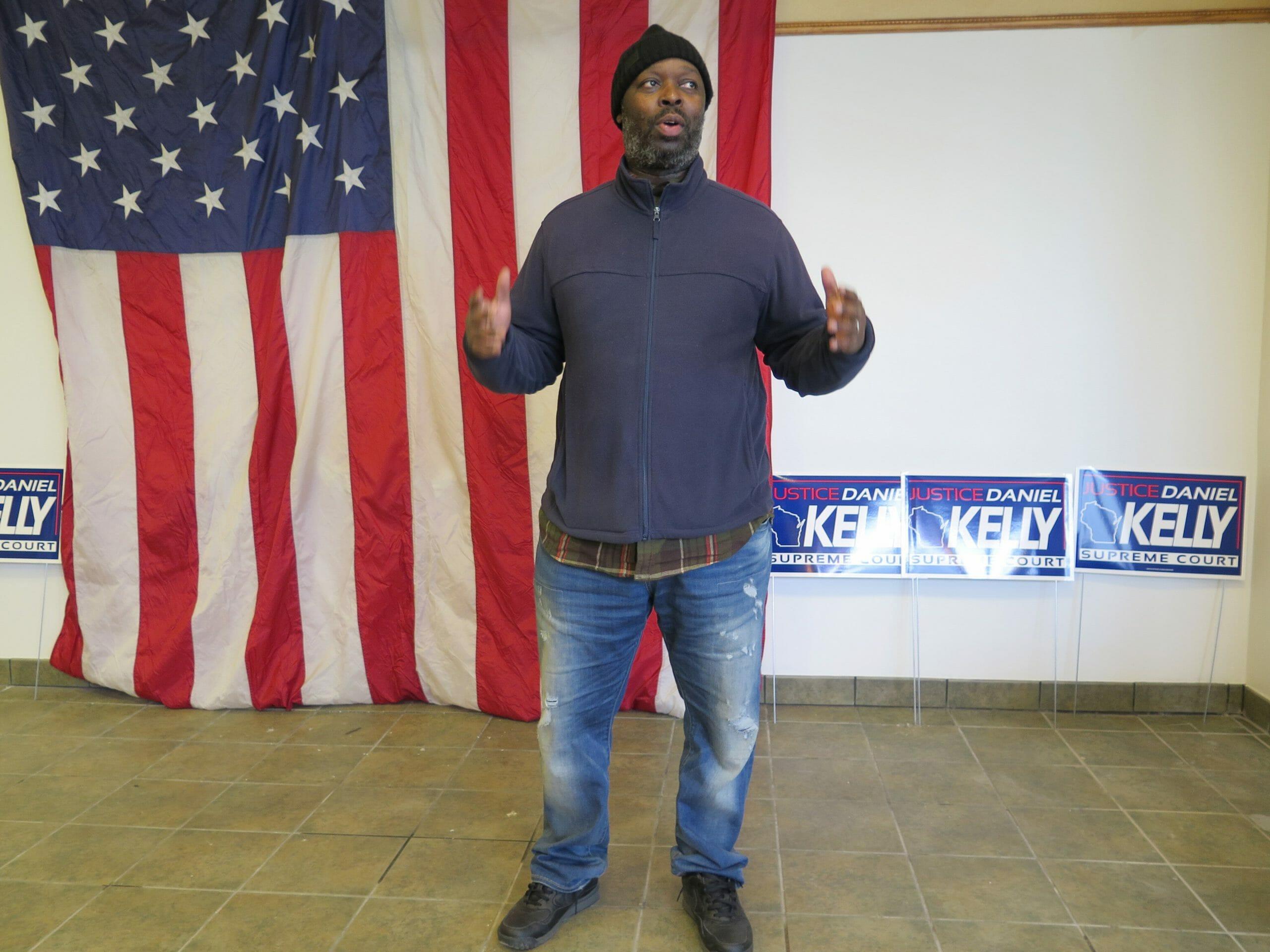 Republican candidate Orlando Owens