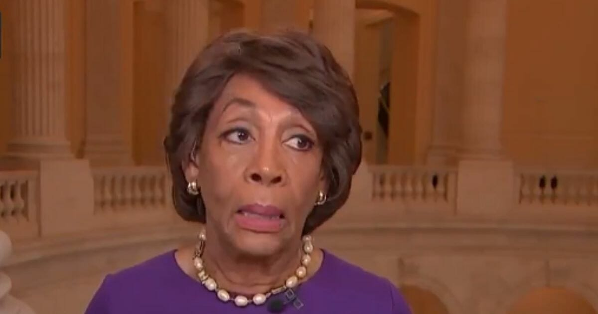 Maxine Waters Scoffs at Rural States, Brags About Elitist Beverly Hills Parties