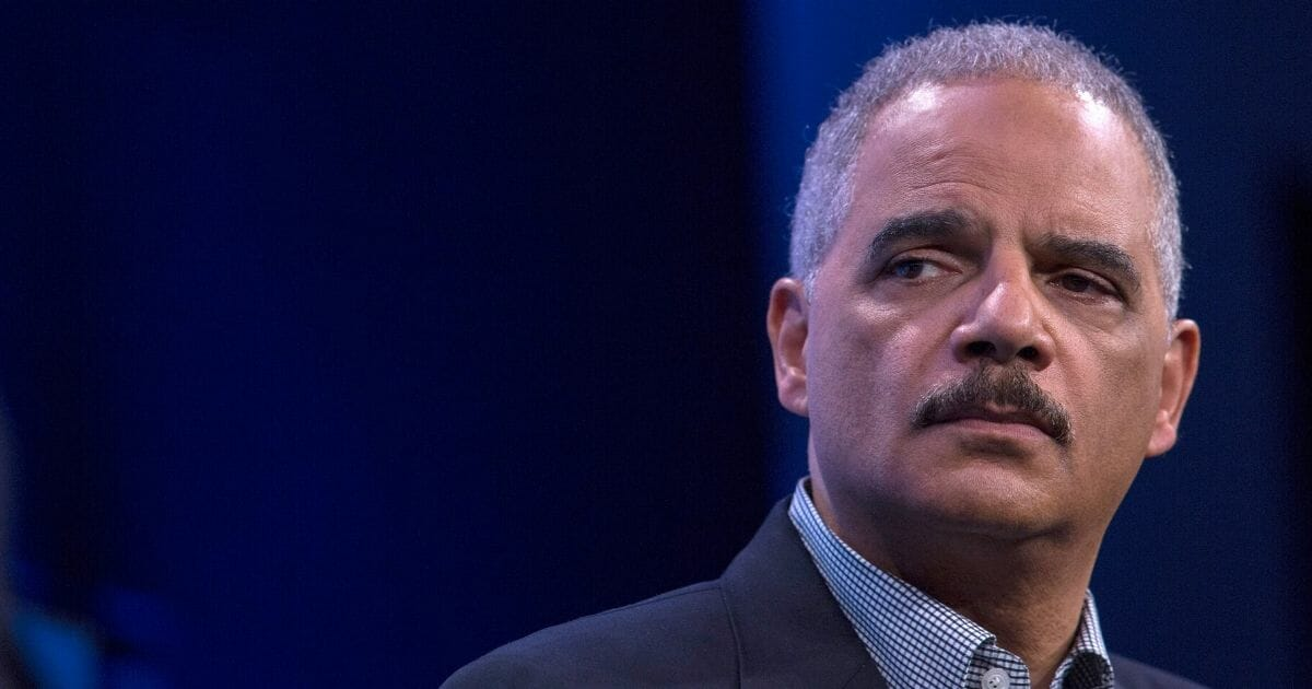 Eric Holder Snaps 'Shut the Hell Up' After Journalist Starts Connecting the Dots