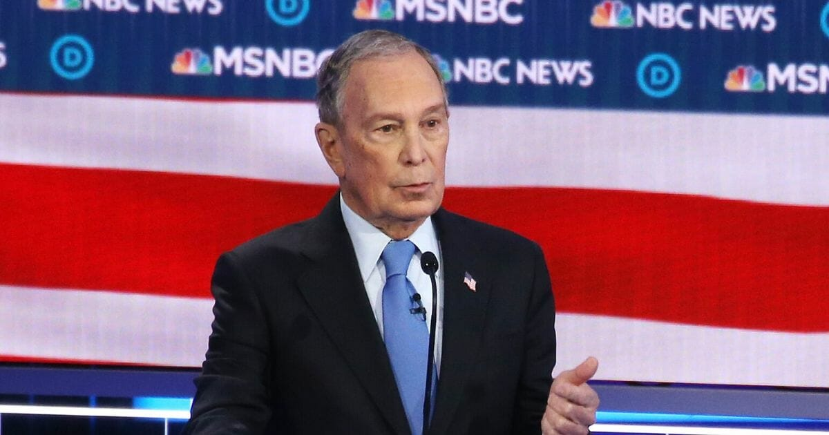 Flustered Bloomberg Accidentally Suggests He Should Have Been Fired for Sexual Harassment