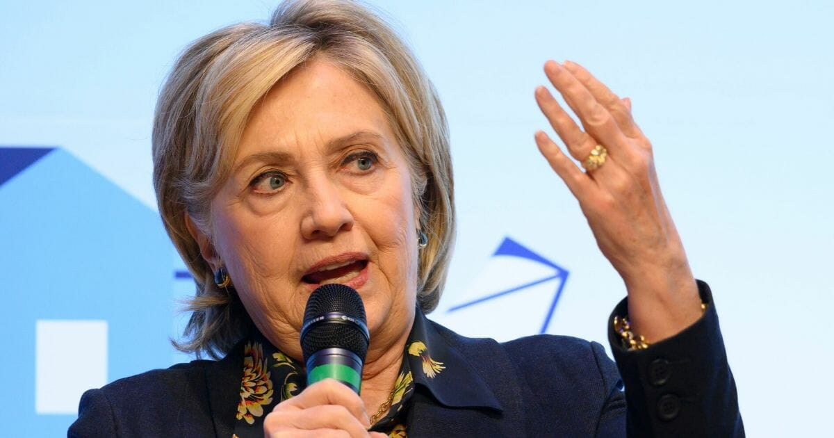 Hillary Clinton Responds to Coronavirus by Urging People To Ignore Trump's Guidance