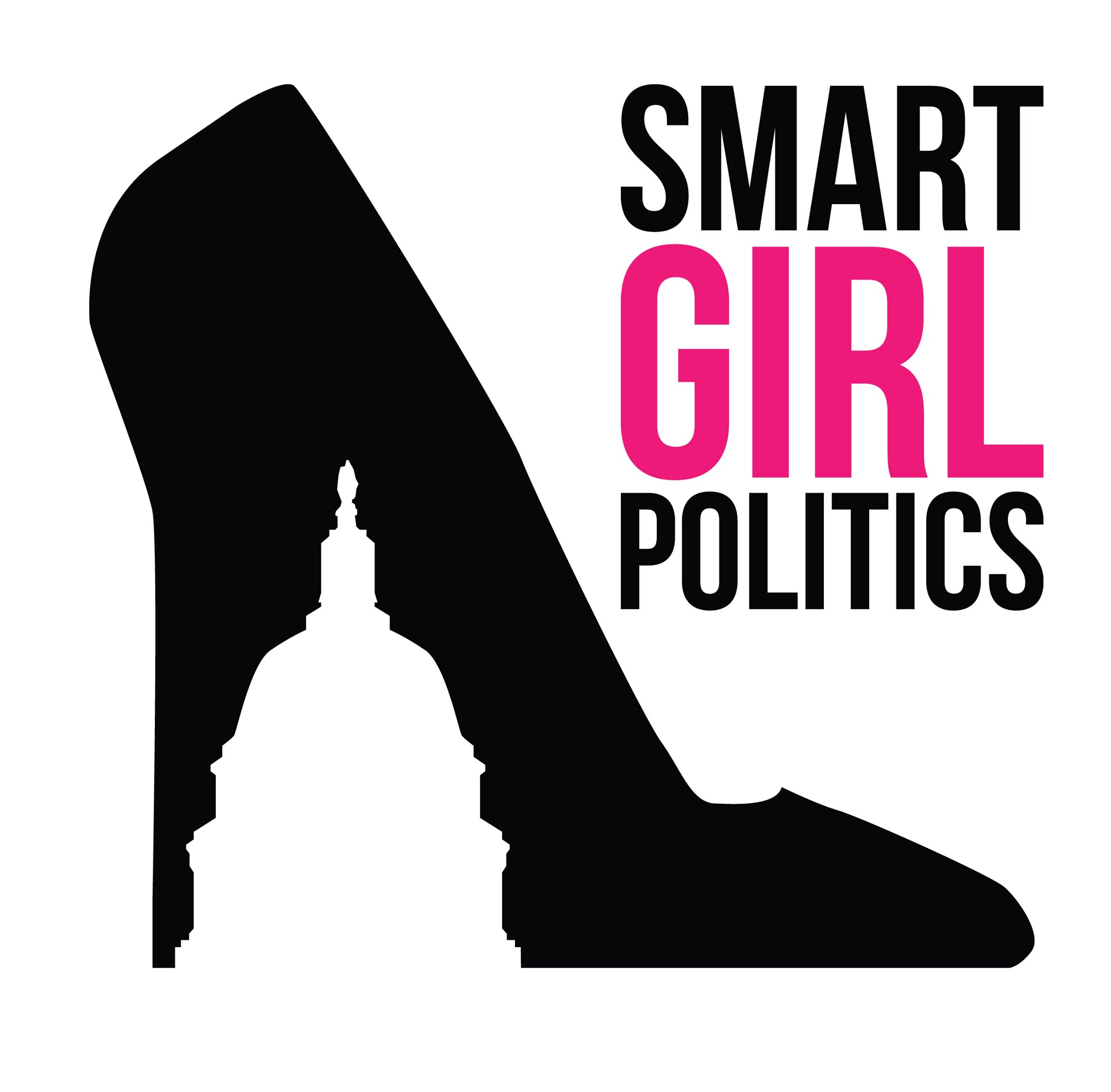 Logo of Smart Girl Politics, a podcast for conservative women hosted by Teri Christoph.