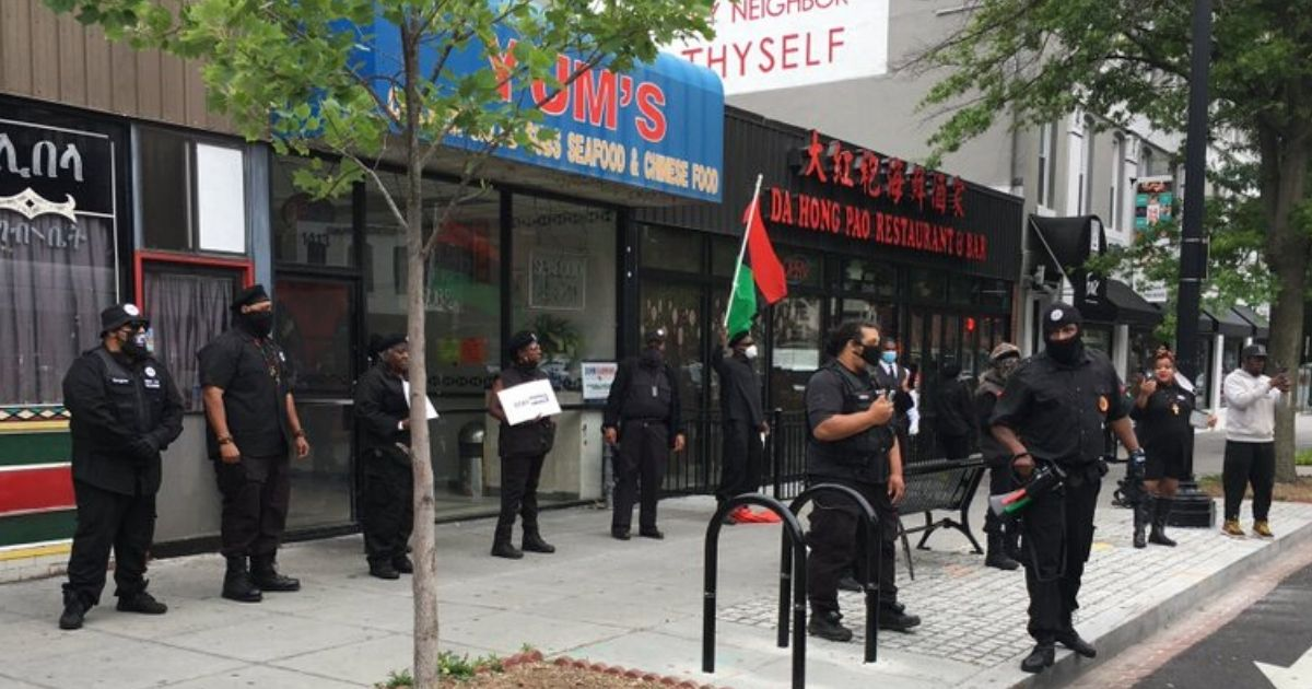 In Baffling Move, Black Panthers Protest Restaurant Over China's Treatment of Africans