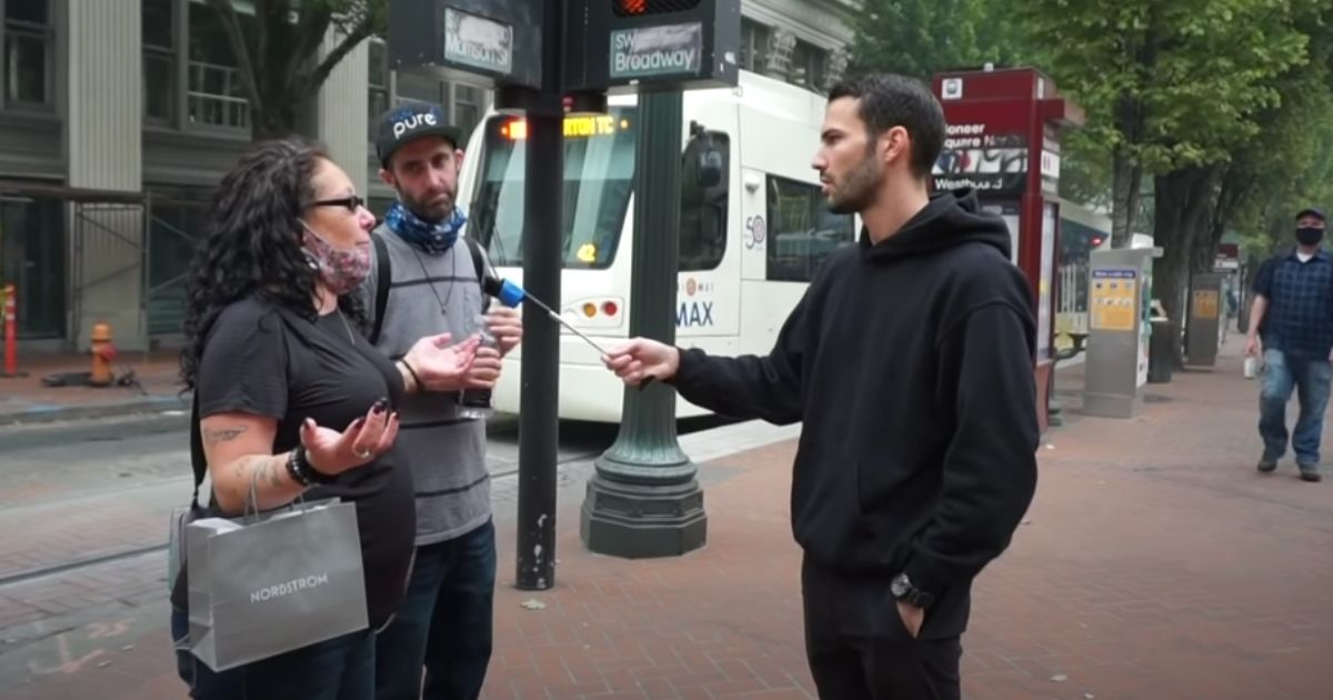 'Tough Luck, Don't Be a F***ing Trump Supporter': Portland Woman Shrugs Off Patriot Prayer Shooting