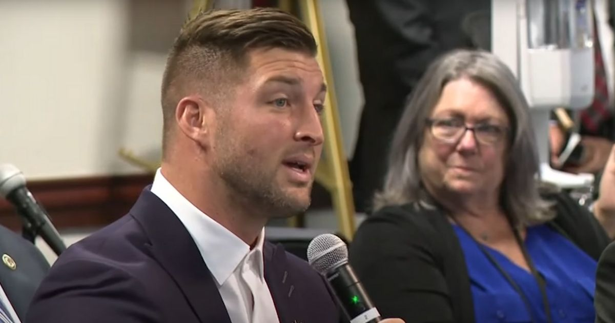 Tim Tebow Teams with Trump Admin To Announce $100 Million Grant To Fight Human Trafficking