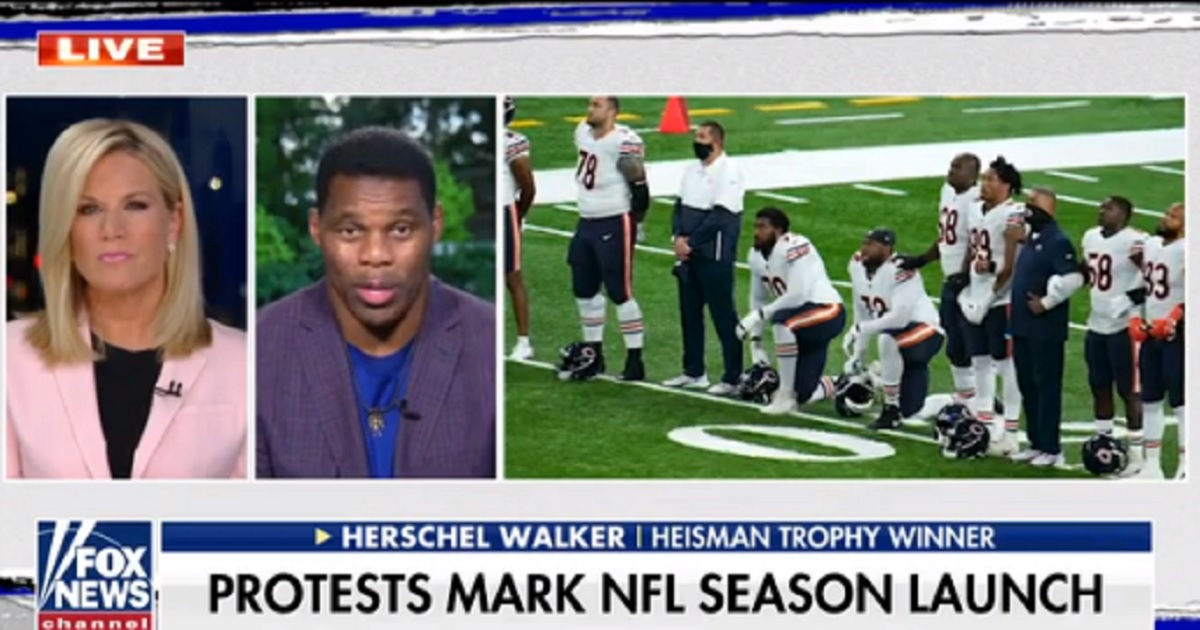 Football Legend Herschel Walker Says 'Fans Have a Right To Protest'
