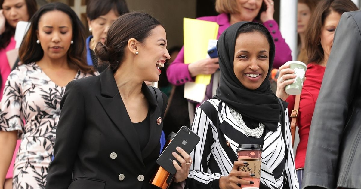 AOC, Omar Team Up with Vlogger Who Said 'America Deserved 9/11' To Energize Young Voters