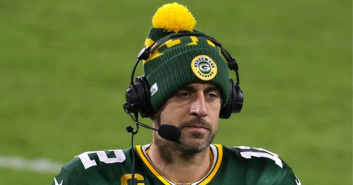 NFL Star Aaron Rodgers Slams Politicians' COVID Hypocrisy, Makes Big Donation to Small Businesses