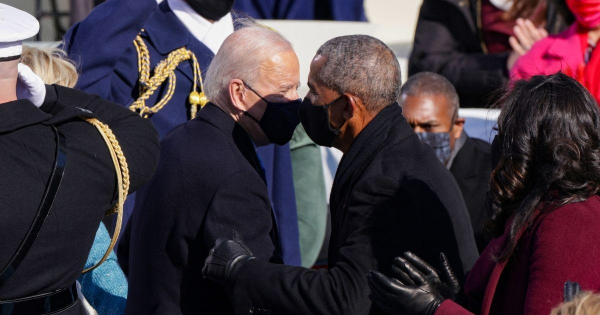 Photos Show Democrats Abandoning Social Distancing Guidelines During Biden Inauguration